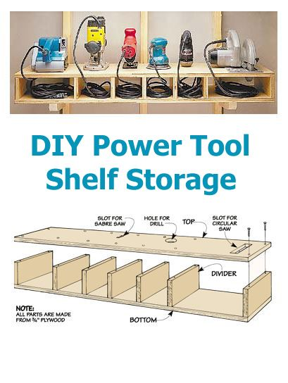 17 Best ideas about Power Tool Storage on Pinterest | Tool ...