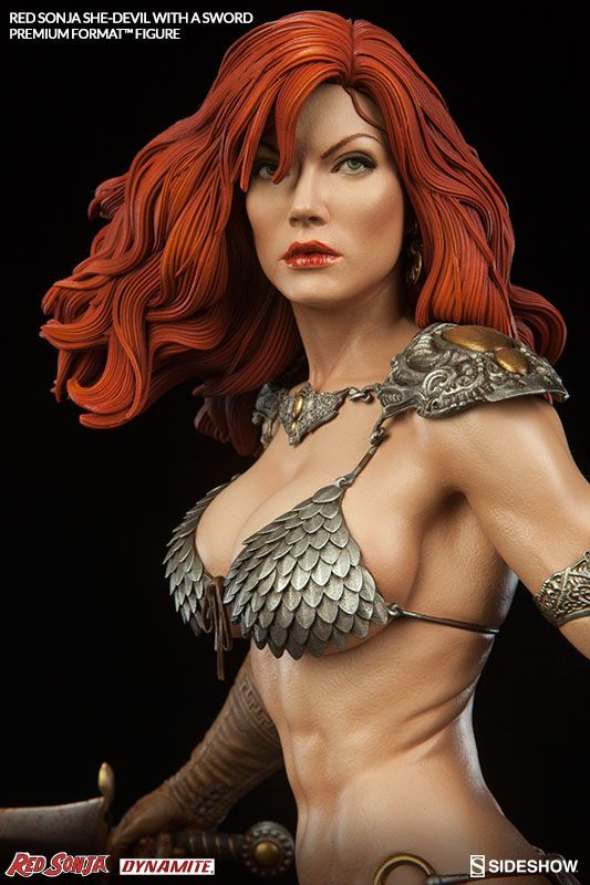 Red Sonja Premium Format Figur Red Sonja She-Devil with a Sword 51 cm
