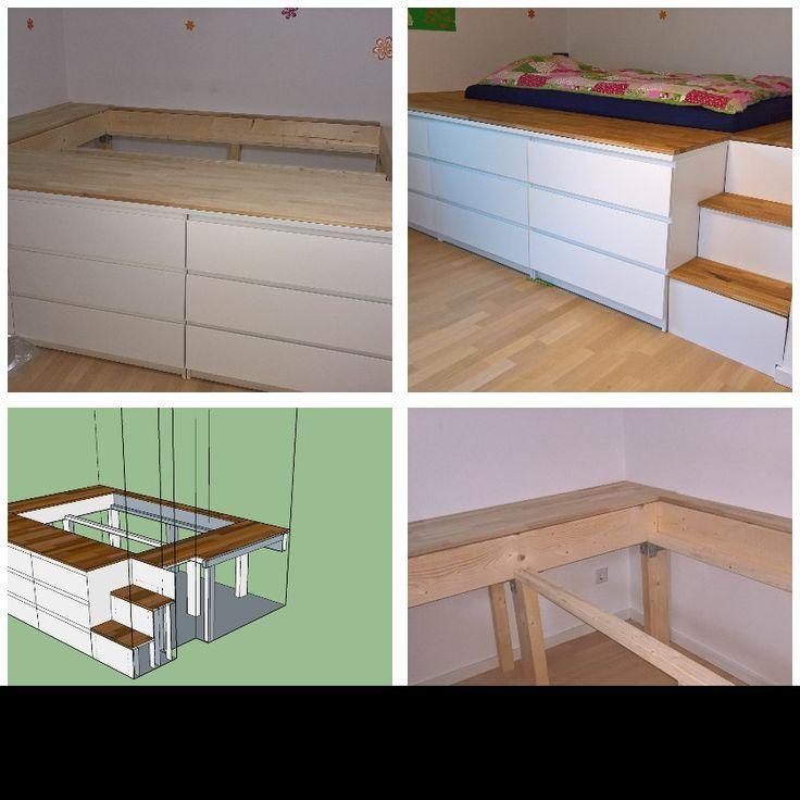 Jeder Kennt Wohl Die Kallax Schranke Von Ikea Nachstehend 11 Fantastische Ideen Zum Selbermachen Mit Den Kallax Schranken Lit Rangement Comment Amenager Une Petite Chambre Kallax Ikea