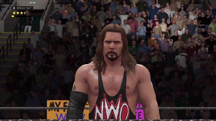 WWE 2K17 Let's Change History WCW Halloween havoc 1998 - Kevin Nash vs S...