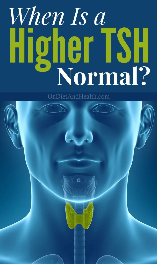 When is high TSH normal?  Does a TSH above 4 require medication?  Are you really Hypothyroid? As many authors write, including myself..... Don't we want TSH to be between 1 and 2? Read more about why reduced thyroid levels (TSH levels above 5), for a lean individual following a low-carb diet, may be normal and healthy! // OnDietandHealth.com