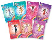 Taelor loves the Rainbow Magic Fairy books by Daisy Meadows.  They are part of the Scholastic Reading Counts program.  When new books come out it does take awhile to get into the reading counts system, but they are easy to read and worth 3-4 points each book!