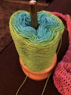 Renske Creatief: Kokon lace sjaal van Vicarno deel 3
