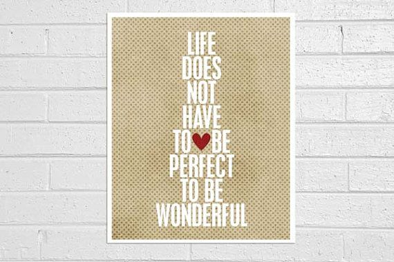 Wonderful Life original digital print in by hairbrainedschemes, $15.00