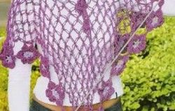 Patrones de ponchos tejidos a crochet