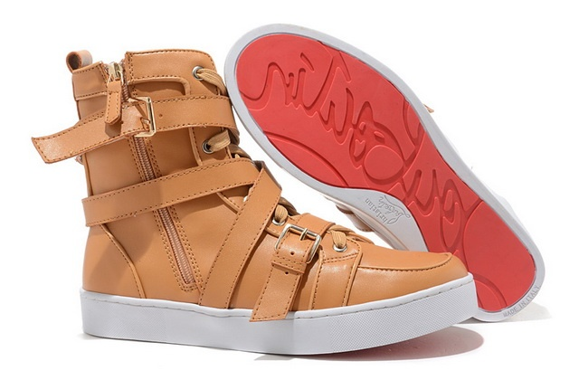 http://www.redsolesale.com/men-christian-louboutin-spacer-flat-sneakers-leather-light-brown-p-583.html