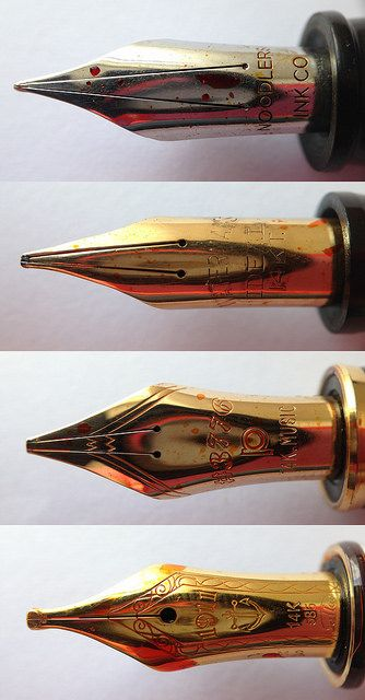 """Review: Noodler's Neponset Fountain Pen - Music """"Vishnu"""" Nib - I MUST have this pen."""