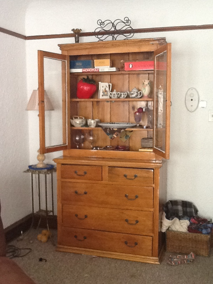 1913 Cabinet, restore by my uncle