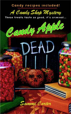 Candy Apple Dead (A Candy Shop Mystery #1)  by Sammi Carter  Abby Shaw has returned to her hometown of Paradise, Colorado--leaving behind a career in corporate law and a cheating husband--to take over her aunt's candy shop, Divinity. But her sweet new life quickly turns sour when a fellow merchant dies in a fire. With all clues pointing to arson--and Abby's brother as the number one suspect--she must sink her teeth into finding the killer.