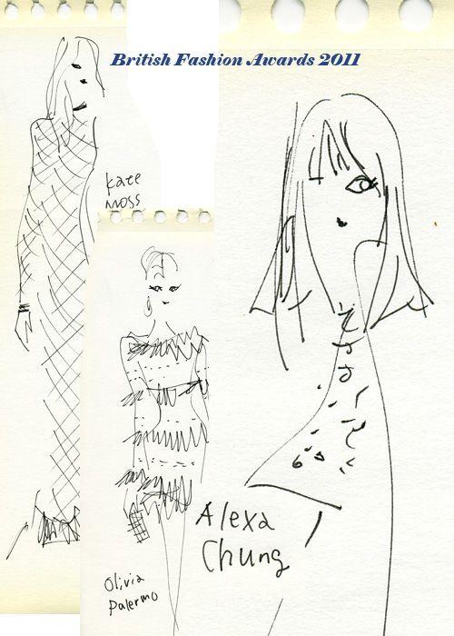 """""""British Fashion Awards 2011"""" 英ファッション界で活躍したデザイナーやモデルに贈られる「ブリティッシュ・ファッション・アワード」。最高賞にあたるデザイナー・オ ブ・ザ・イヤー(Designer of the Year)に輝いたのは、「アレキサンダー・ マックィーン(Alexander McQueen)」を手がけるサラ・バートン(Sarah Burton)。 アレクサ・チャン(Alexa Chung)はブリティッシュ・スタイル賞(British Style)を受賞。"""