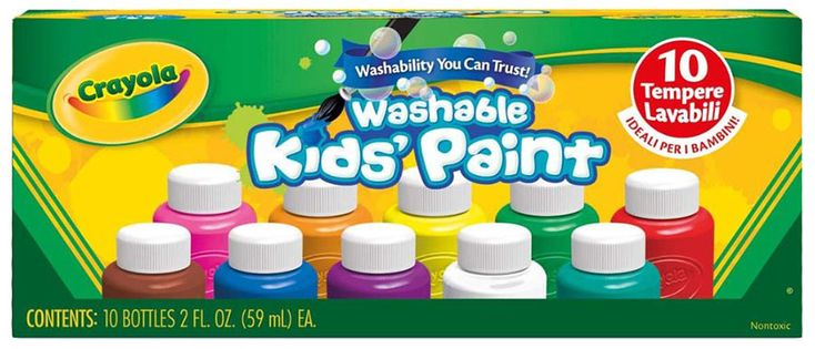 https://www.fatbraintoys.com/toy_companies/crayola/10_ct_2_oz_bottles_assorted_color_washable_kids_paint.cfm