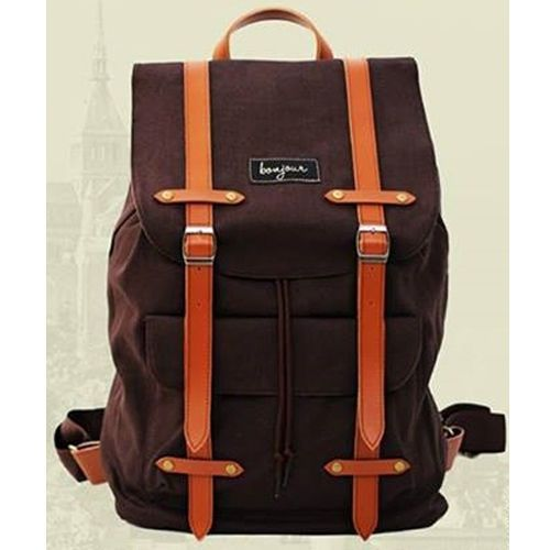 "Stylish Waterproof Canvas Laptop Bag 14"" Backpack Hiking Rucksack School Bag | eBay"