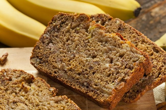 Slow Cooker Banana Bread - Delicious and OH SO MOIST!  www.GetCrocked.com