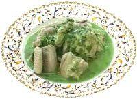 Belgian Eels in Green Sorrel Sauce recipe