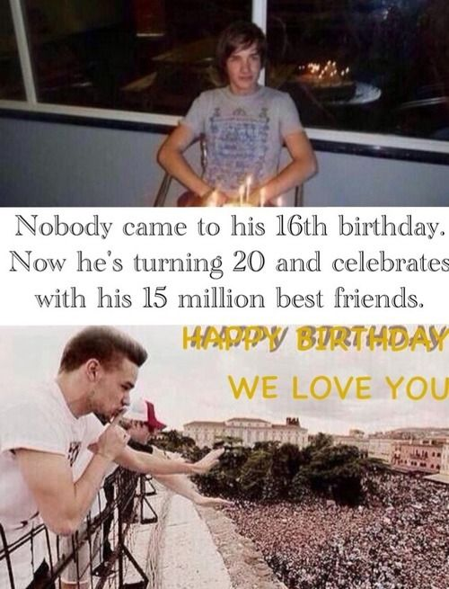 Happy 20 birthday! I can't believe it's already here! We're so proud of you! <3 @Jeff Sheldon Rubio Payne
