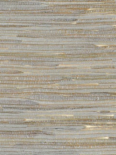 Silver and Brown Java Grass Wallpaper, SBK26981