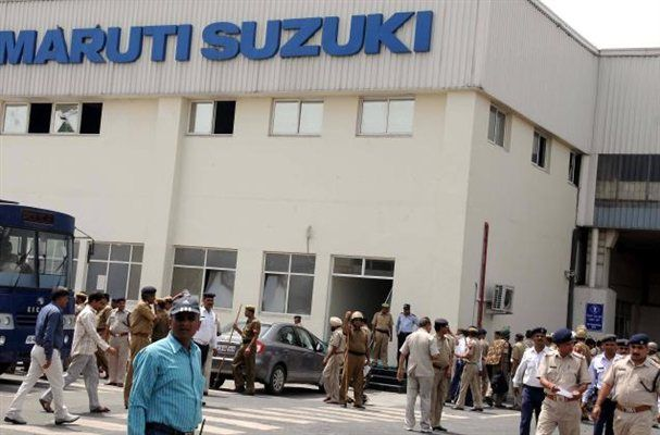 Gujarat plant to take more longer due to farmers protest... http://www.autoinfoz.com/india-car-news/Maruti_Suzuki-car-news/Manufacturing-Unit-Of-Maruti-In-Gujarat-Will-Take-Longer-518.html