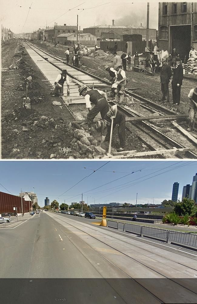 """Here are some gorgeous photos of Melbourne """"then and now"""", published in the Herald Sun. We've come a long way in 180 years!  http://www.heraldsun.com.au/news/victoria/in-pictures-how-melbourne-was-built-up-from-the-ground/story-fnkd6ppg-1227382756420"""
