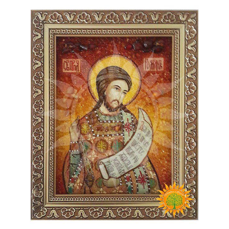 Икона Преподобный Роман Сладкопевец изготовлена из уникального камня, имеющего магические свойства - янтаря.Купив икону Вы получите икону которая защитит Ваш дом.