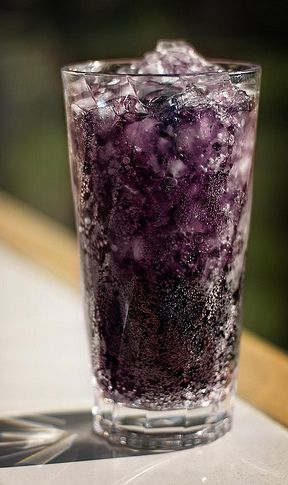 Grape Nehi Cocktail: 1 oz. Vodka, 3/4 oz. Chambord Raspberry Liqueur, Sweet & Sour Mix, & 1 splash(es) 7-Up or Sprite. Pour vodka and Chambord over ice in a tall glass. Add sweet & sour mix to taste, then finish with a splash of 7-Up or Sprite.