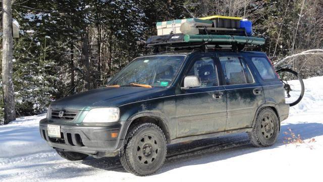 CR-V Camping