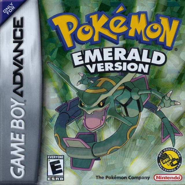 """Pokemon Emerald"" for Game Boy Advance (2005). One of my favorite games! <3"