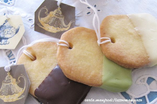 biscottini a forma di bustine da te - Cerca con Google