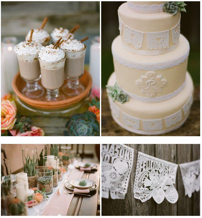 Spanish Bridal and Mexican Pastels » the Carolina Wedding Design Blog