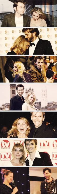 Billie and David 2005-2012. I had never in my life shipped real life people until I saw the way these two act together. And then they married other people, and I died a little inside.