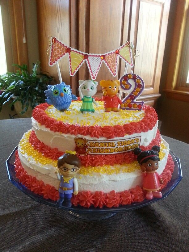 Check out this Daniel Tiger cake from a fan!