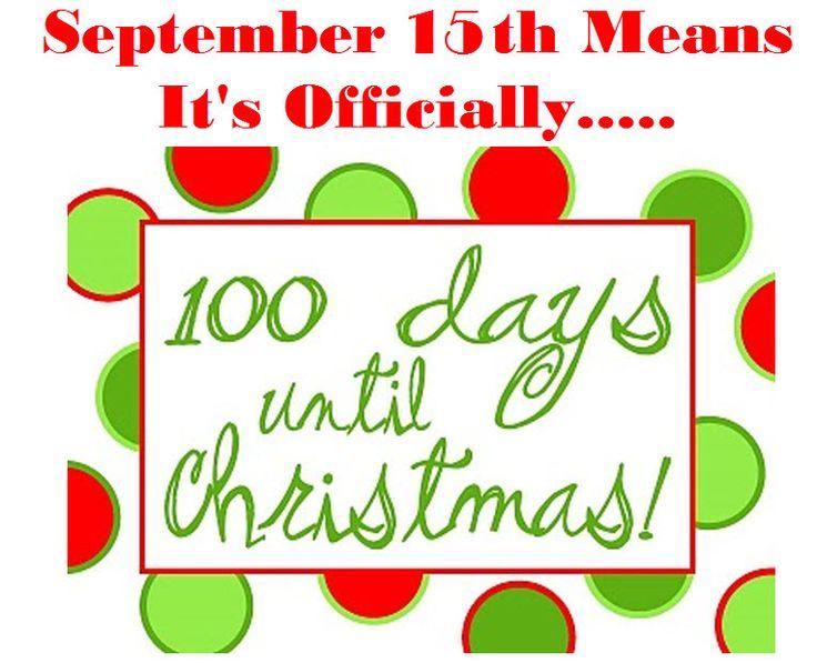 100 days until Christmas! Really.Holiday, Christmas Parties, Christmas Time, Christmas Celebrities, Christmas Memories, 100 Days Until Christmas, Christmas Magic, Christmas Ideas, Christmas 100
