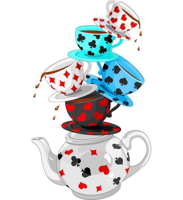 Naklejka na Ścianę Zastanawiam się, Tea Party piramidę 365 dni na zwrot ✓ Miliony wzorów ✓ 100% Eco-Friendly ✓ Profesjonalna obsługa i doradztwo ✓ Skonfiguruj online!