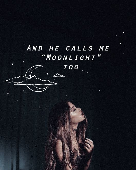 i never knew you could hold moonlight in your hands