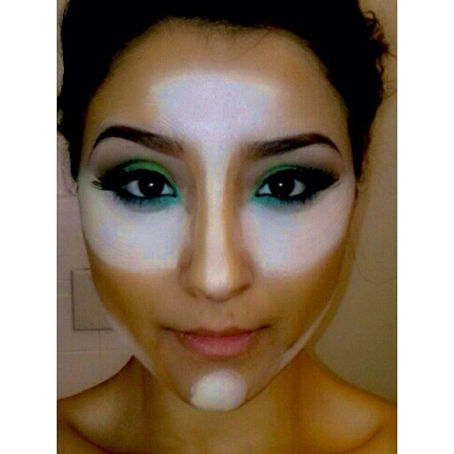 T Zone Makeup Tips