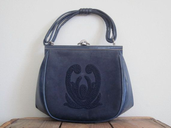Comtesse / 60s Bag / Mad Men Purse / Western by TheThriftingMagpie