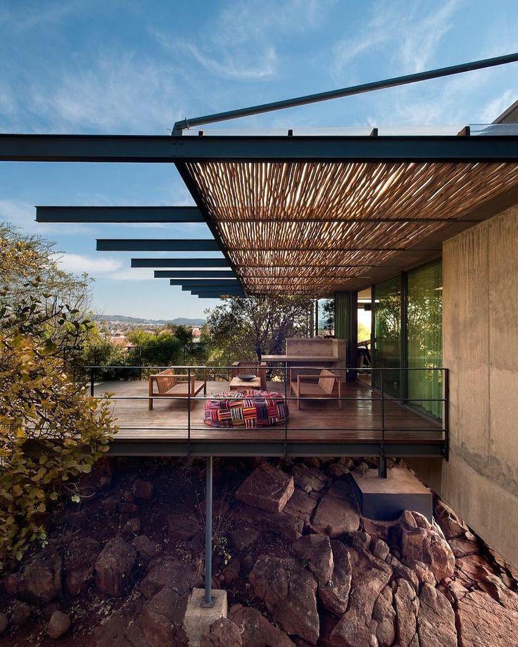 Earthworld Architects Interiors design the Gauch House via caandesign- architecture, design