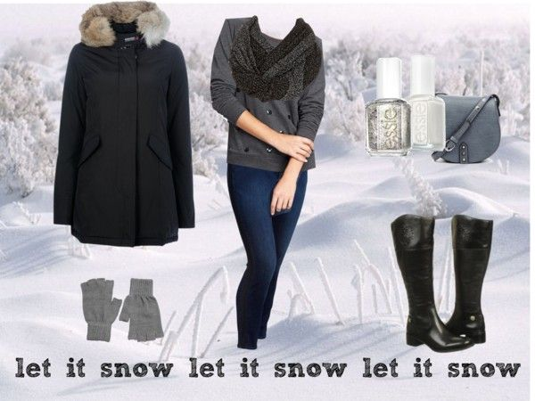 how to wear a dress in snow