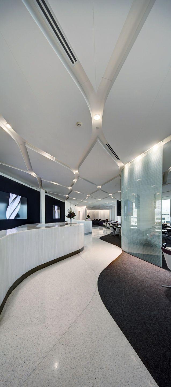 Virgin Lounge Melbourne   Tonkin Zulaikha Greer Architects - Melbourne Airport, Victoria 2011