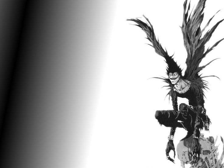 Shinigami Ryuk Death Note Pinterest Wallpapers