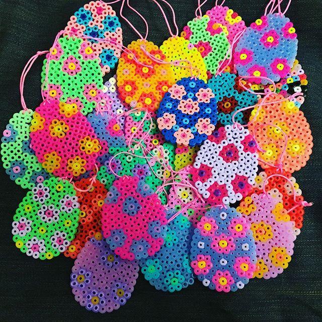 Easter eggs hama beads by marie_gjerloev