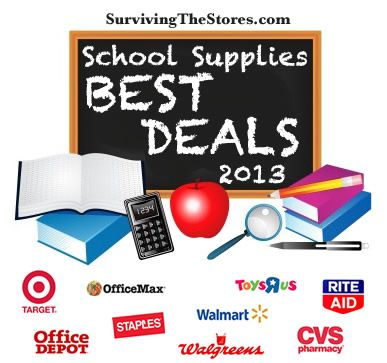 Back to school sales - updated weekly with the BEST deals!!  #backtoschool