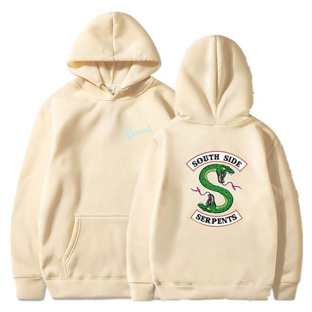 South Side Serpents Riverdale Sweatshirt Leisure Hoodie Unisex Pullover Men New
