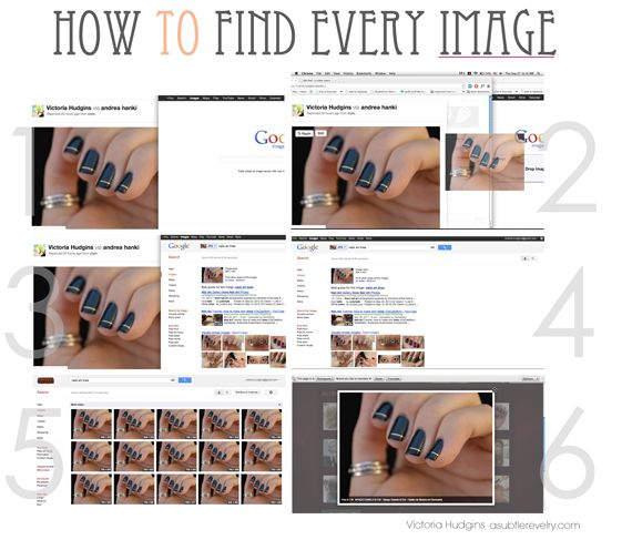 how to find the original source for any image online