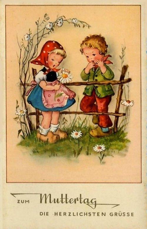 45 best images about vintage cards germany on pinterest for Vintage geburtskarten