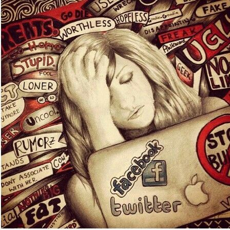 Stop bullying Kristina webb | art | Pinterest | A well ...