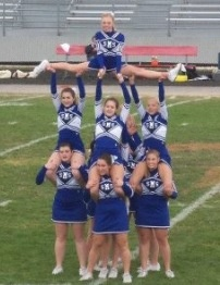 #awesome cheer stunt!