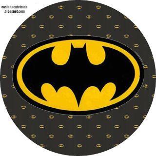 Kit Festa Batman Para Imprimir Gr�tis