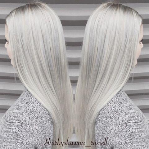 ◽️SILVER LINING◽️ Schwarzkopf heeft een nieuwe kleur in Igora Royale 91 / 2-22 !! Meng met 91 / 2-1and sommige 8-11 op de top van gebleekt haar om deze zilveren blonde krijgen!