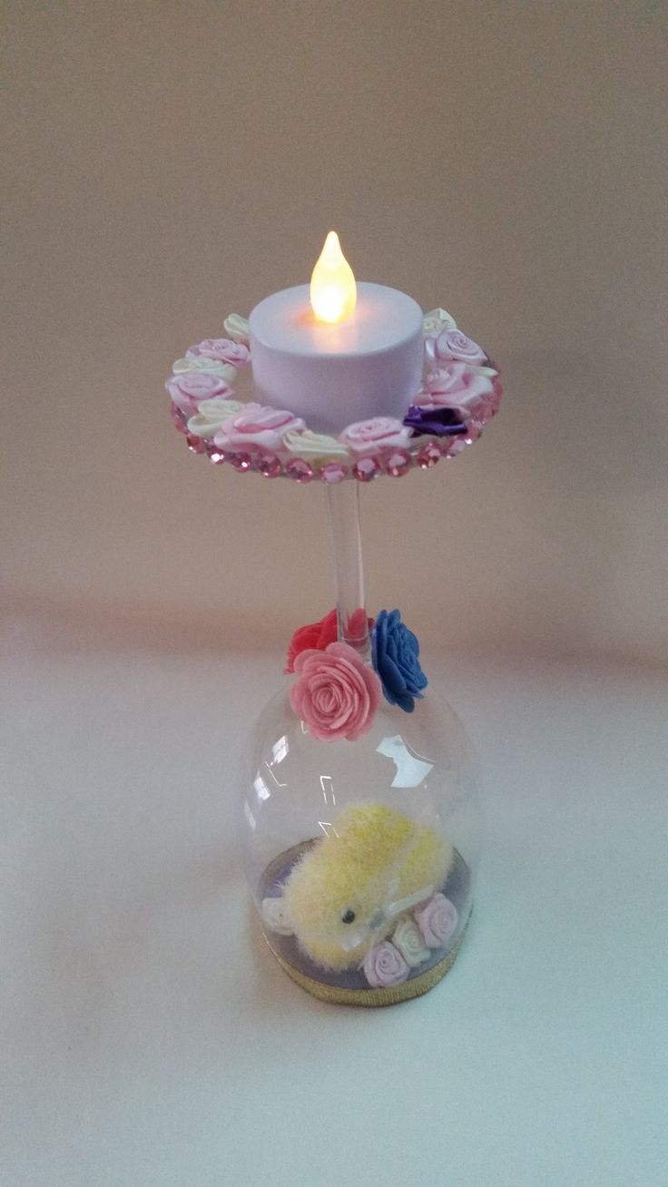 Easter Rabbit Candle Holder  $ 15.00
