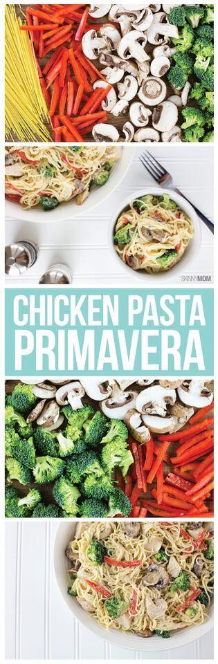 Easy vegetable pasta primavera recipe